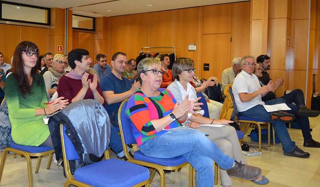 Asistentes al Consejo federal. Girona, 28 de noviembre de 2014. Archivo FSC-CCOO