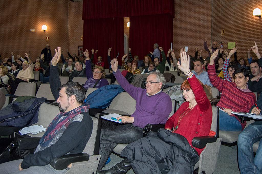 Votaciones en el Consejo federal de FSC-CCOO. Madrid, 14 y 15.01.15. Archivo FSC-CCOO