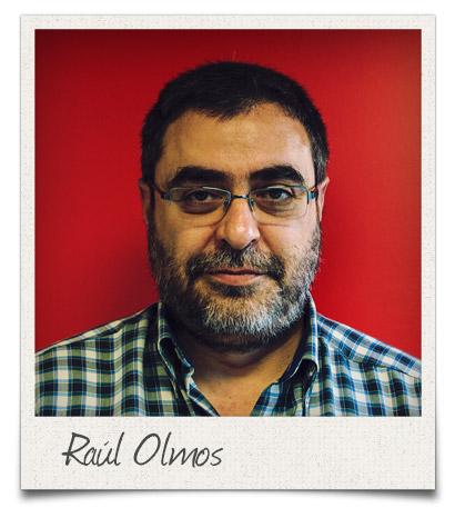 Raúl Olmos, secretario de Acción Sindical de FSC-CCOO