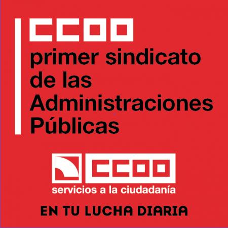 CCOO, primer sindicato de las AA.PP.