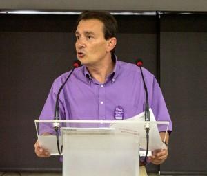 Javier Jiménez, secretario general de FSC-CCOO. Archivo FSC-CCOO